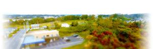 相馬郡新地町渡辺病院から新地と駒ケ嶺風景