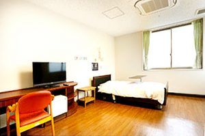 相馬郡新地町渡辺病院の居室紹介・特別室