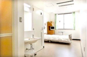相馬郡新地町渡辺病院の居室紹介・個室