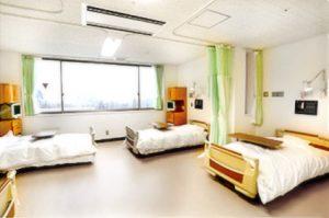 相馬郡新地町渡辺病院の居室紹介・一般病室4人部屋
