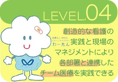 渡辺病院看護部の専門職としての能力開発レベル4