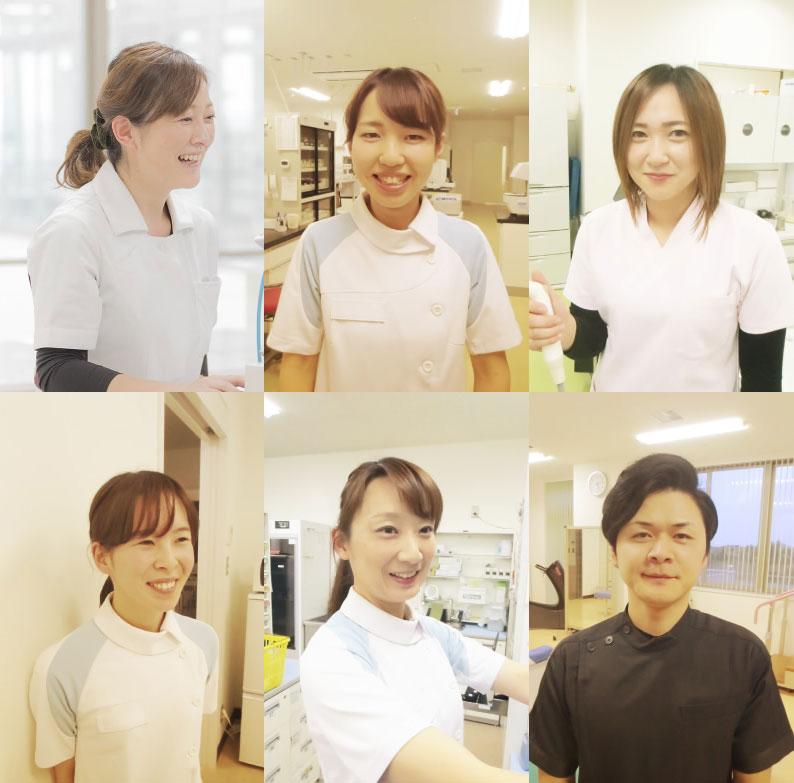 渡辺病院看護部スタッフ