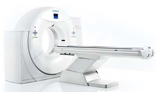 相馬郡新地町渡辺病院の腹部CT検査様CT装置